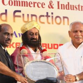Sri Sri Honored for Socio-Economic Contributions