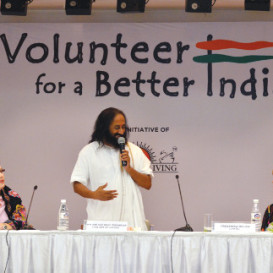 "Launching the ""Volunteer for a Better India"" Campaign"