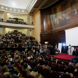 University of Buenos Aires honors Sri Sri