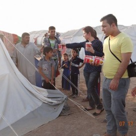 Art of Living reaches out Yazidis, Shias and Christians in Iraq