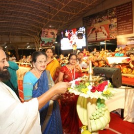 70 Veena artists converge on one stage