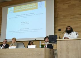 Ethics in Innovation - Spirituality shares ​a dais with Science