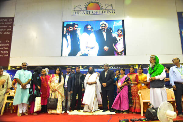 Kashmir meet - families and leaders