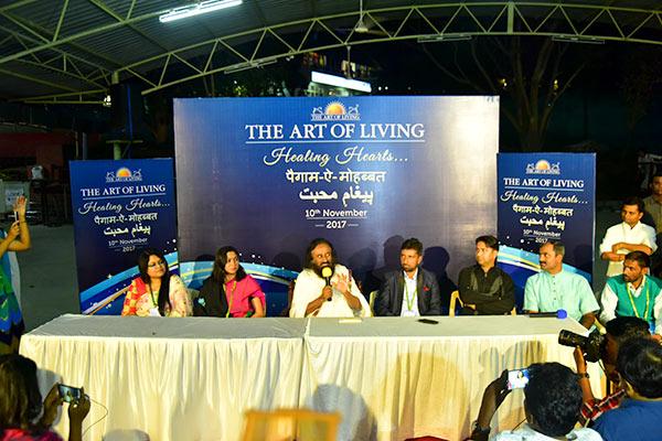 Kashmir meet - Press conference
