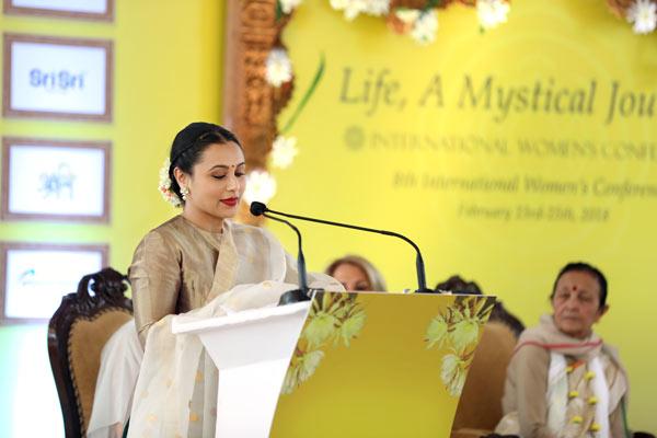 International Womens Conference - Rani Mukherjee keynote address