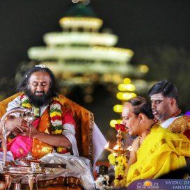 Ancient chants fill up the air at Mahashivratri celebrations