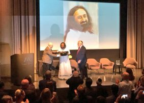 International Leadership Award at the Museum of Tolerance