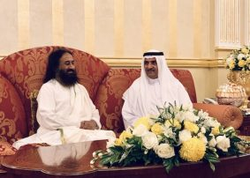 UAE accords warm welcome to Sri Sri