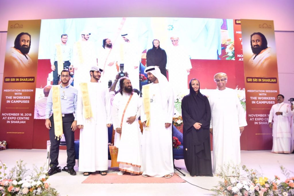 sharjah worker meet stage