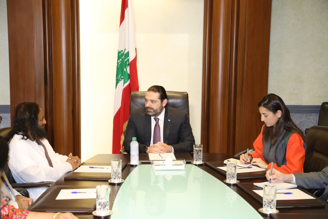Interaction with the Prime Minister of Lebanon His Excellency Saad Hariri