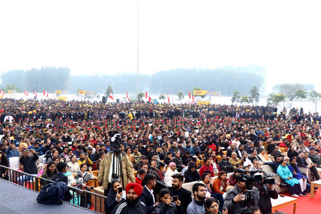 Drug Free India Chandigarh - crowd more