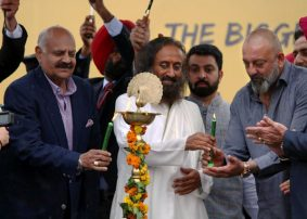 Launch of Art of Living's Drug Free India Campaign