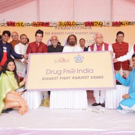 PM Modi Lauds The Art of Living's Initiatives To Fight The Menace of Drugs In India