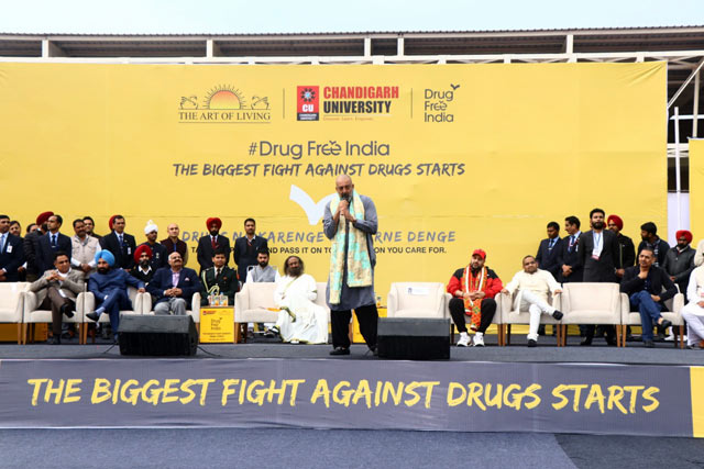 Drug Free India Chandigarh Sanjay Dutt speech