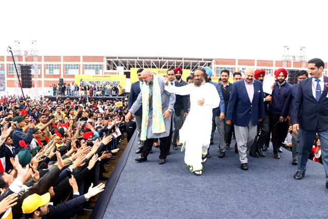 Drug Free India Chandigarh - with crowd