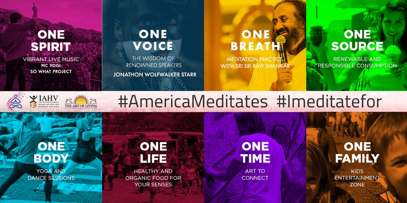 America Meditates July 2019 in Denver