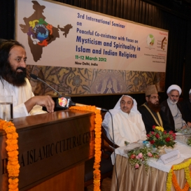 Third International Seminar on Mysticism & Spirituality in Islam & Indian Religions