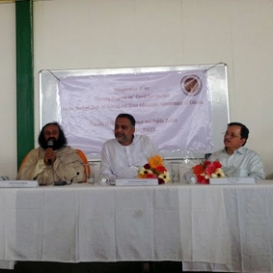Sri Sri inaugurates Good Governance department at Sri Sri University