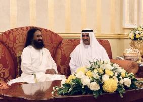 UAE accords warm welcome to Sri Sri