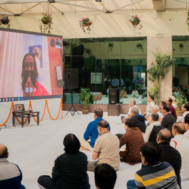 The Central Bureau of Investigation (CBI) of India experiences the Art of Living