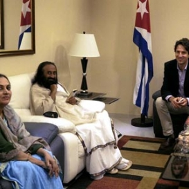 Sri Sri invited to signing of FARC-Colombian government peace agreement