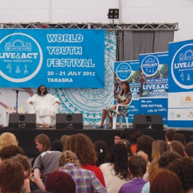 Inspiring Youth at International Festival in Poland