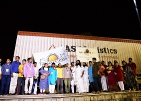 The Art of Living sends 60 truckloads of Relief Material to Kerala