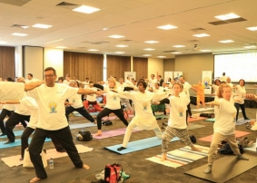 On Yoga Day Chilling Temperatures, Tough Terrains, Conflict Fail To Bring Down The Yoga Love