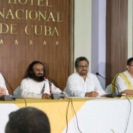 Breakthrough at the peace talks with FARC in Cuba