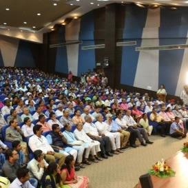 ISRO scientists explore a new dimension of Space with Sri Sri