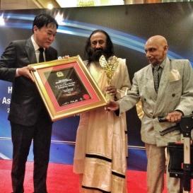 Sri Sri and The Art of Living conferred 2 prestigious Awards in Malaysia